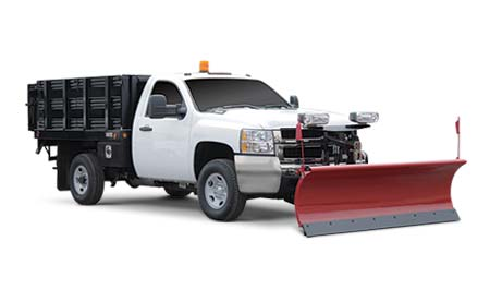 Landscaper Plow Snow Removal