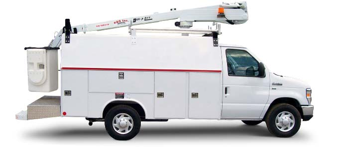 Reading equipment builds trucks for the telecom industry
