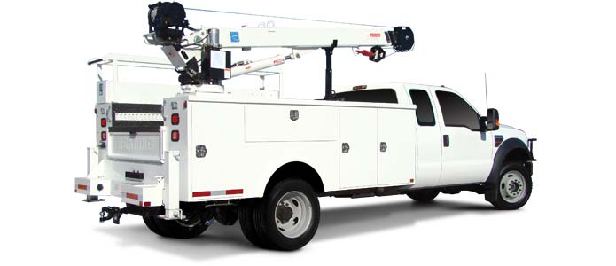 Reading equipment serves the utility industry with Utility Trucks