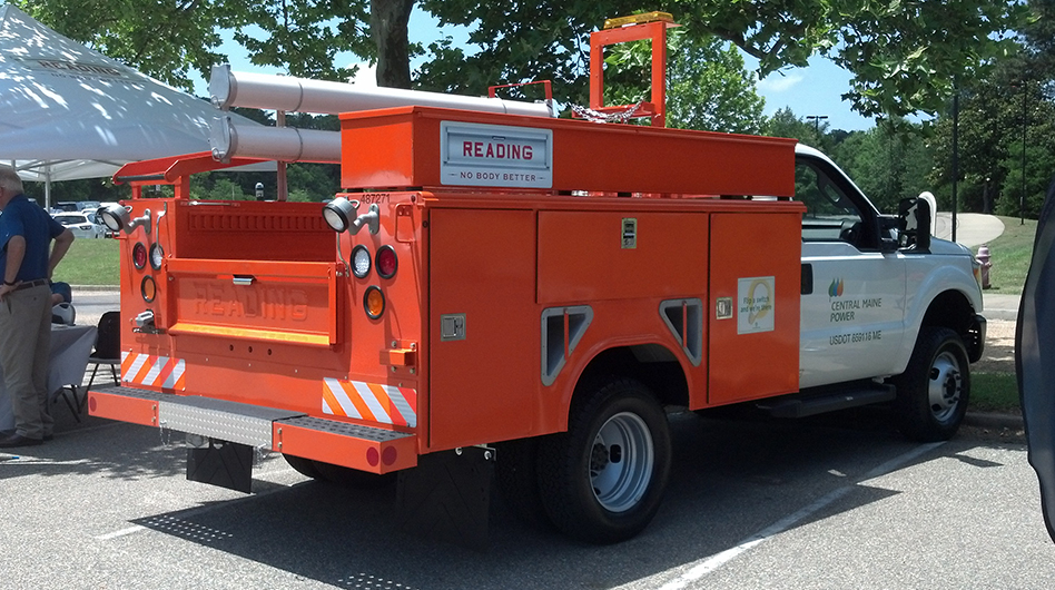 Reading Utility Body >> Service Bodies Reading Truck Equipment